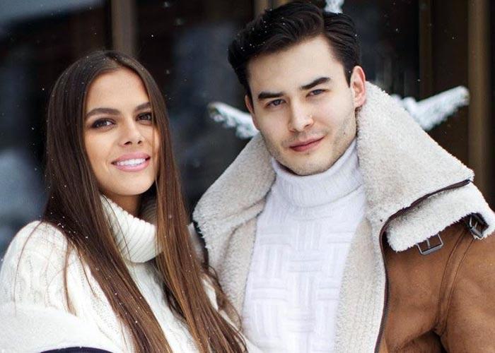Виктория Одинцова и Димаш Адилет