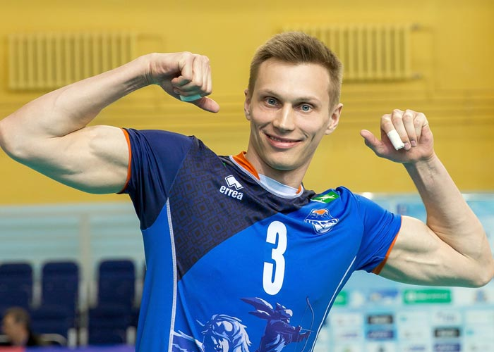 волейболист Дмитрий Ковалев