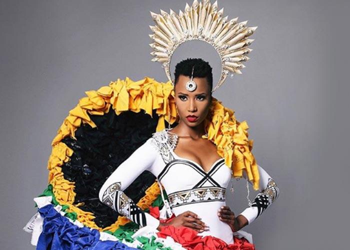 Зозибини Тунци Мисс Вселенная 2019