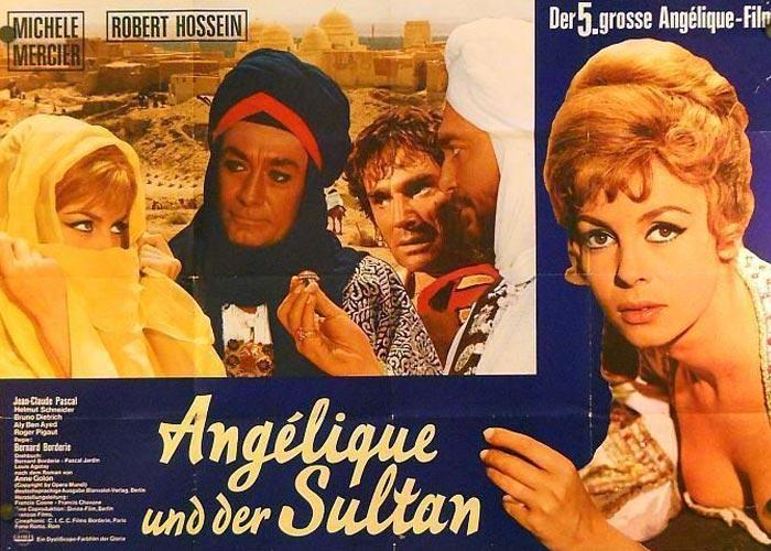 постер Анжелика и султан