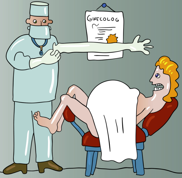 Гинеколог прикол
