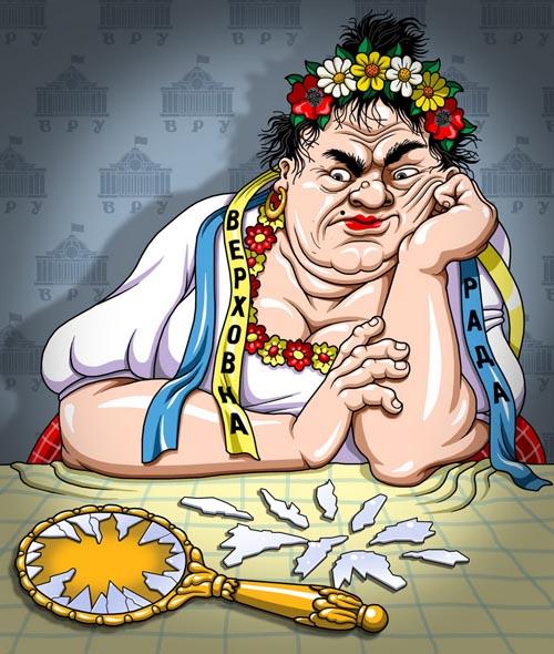 карикатура украина