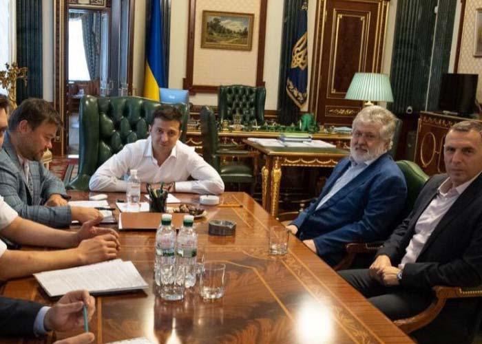 Коломойский Зеленский совещание