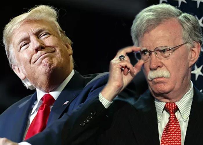 Трамп против Болтона